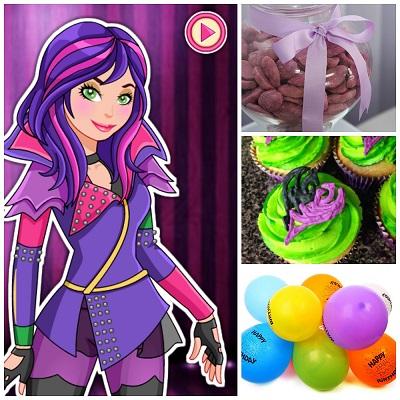 Fiesta Descendientes ¡Ideas para una fiesta infantil original!