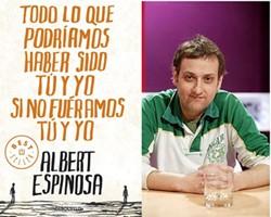 Albert Espinosa y portada