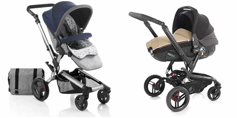 Análisis del Jané Rider, un carrito de bebés de alta gama