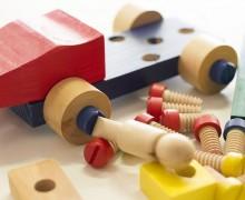 coche juguetes madera