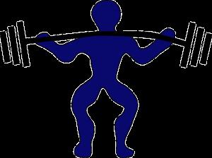 Levantador de pesas. Imagen by Pixabay