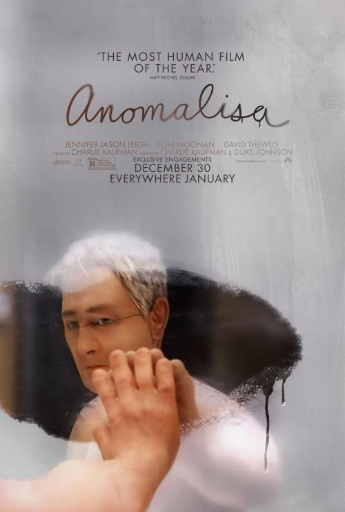 "Crítica de ""Anomalisa"", de Charlie Kaufman y Duke Johnson"