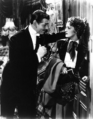 Clark Gable yJeanette MacDonald. Imagen by Dennis Amith.