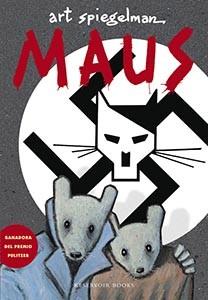 Portada del cómic Maus, de Art Spiegelman