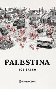 Portada cómic Palestina de Joe Sacco