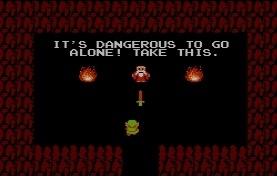 The Legend of Zelda de NES