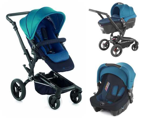 Jané Rider, un trío para bebés