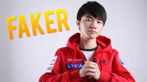Lee Sang-Hyeok, Faker, estrella del e-Sport