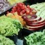 Vegetales expuestos
