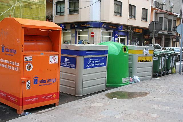 El reciclaje doméstico y la adecuada separación de los residuos