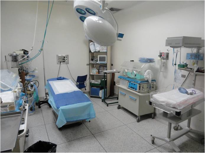 Quirofano escenario el paciente