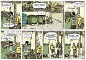 Viñetas La casa Paco Roca 1