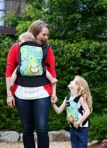 mochilas ergonómicas portabebés carrier