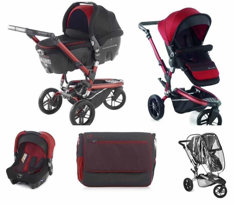 Jané Trider, carritos de bebé todoterreno