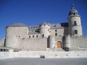 Castillo-fortaleza en un viaje por tierra de Comuneros, Archivo General de Simancas
