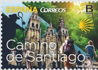 Sello del Camino de Santiago