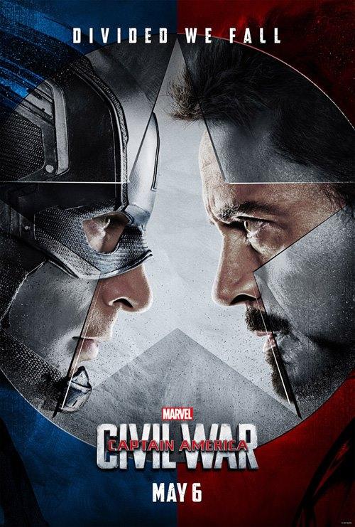 """Juguetes y playeras de """"Capitán América: Civil War"""" para niños"""
