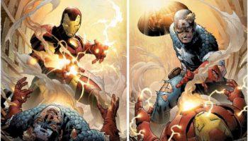 Civil War Capitán América Iron Man