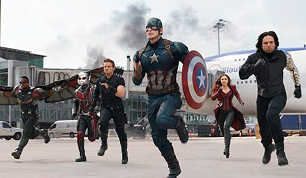 "Protagonistas de ""Capitán América: Civil War"""