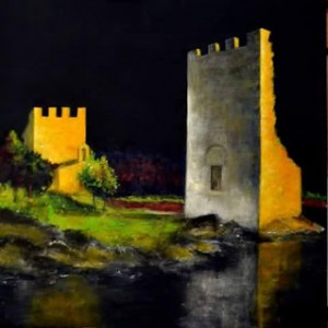 Torres, pintura de Guille de la Paz