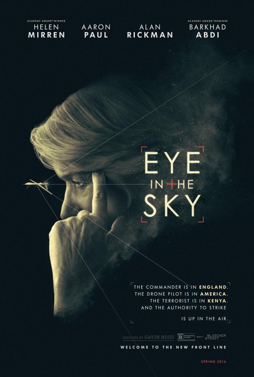 """Crítica de """"Espías desde el cielo"""", con Helen Mirren"""
