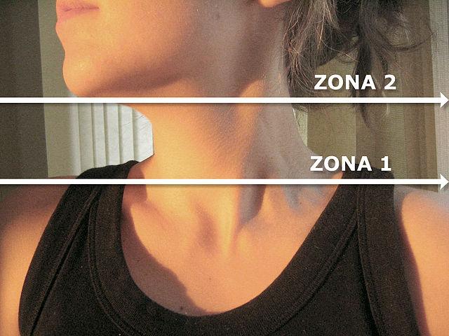 Cómo cuidar la piel del cuello, escote y barbilla