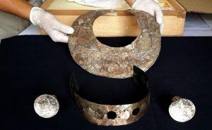 Joyas aleaciones plata y oro incas en Museo de Sitio de Túcume