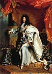 Luis XIV. Imagen by Hyacinthe Rigaud