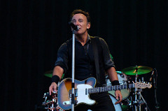 Springsteen. Imagen by Laura.