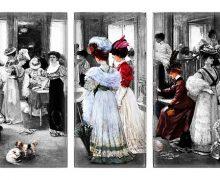damas de la epoca victoriana