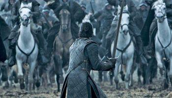 Juego de Tronos 6×09 la batalla de los bastardos Jon Nieve Caballos