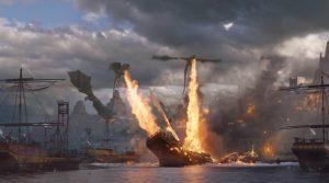 Juego de tronos 6×09 batalla bastardos dragones