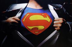 Superman. Imagen by Gareth Simpson