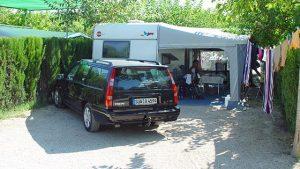 Mejores campings: Camping La Marina parcela azul