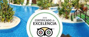 El Camping Marjal Guardamar en Alicante con su certificado de excelencia