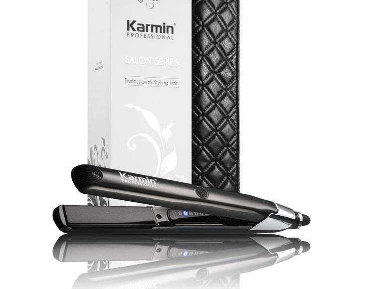 Plancha de pelo Karmin Salón Series: alisado profesional que cuida tu pelo