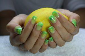 Manicura limón