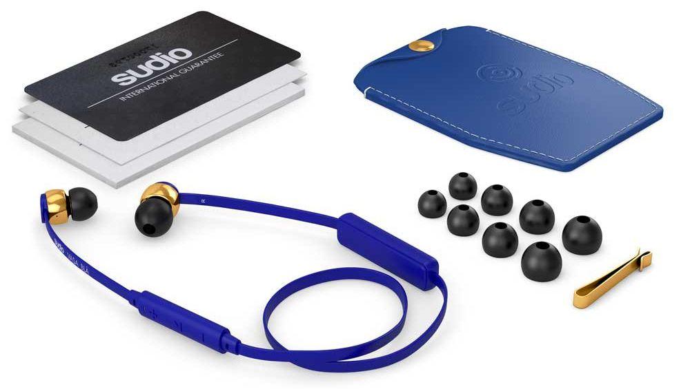 Auriculares bluetooth Sudio Vasa Bla para smartphones