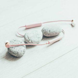 Auriculares rosa bluetooth Sudio Vasa Bla