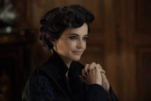 La actriz Eva Green como Miss Peregrine