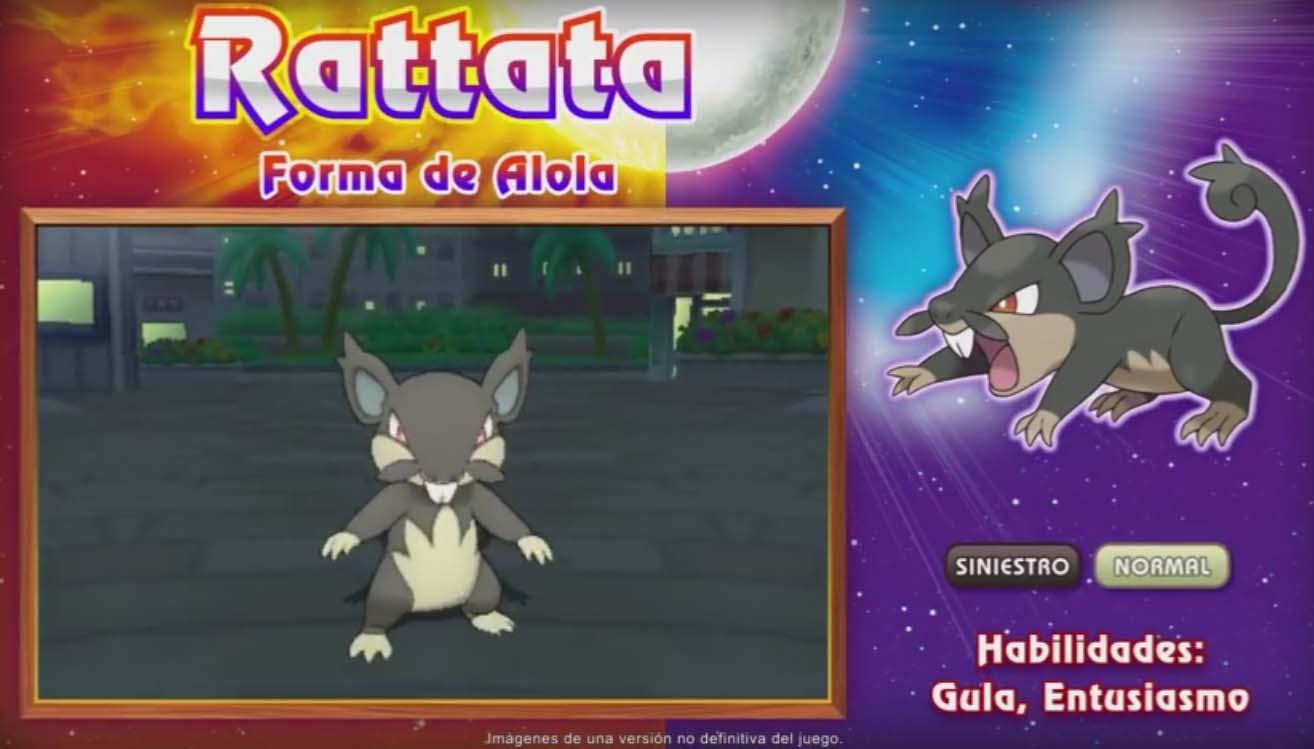 Rattata alola siniestro