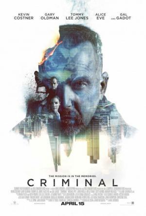"""Crítica de """"Criminal"""", de Ariel Vromen, con Kevin Costner"""