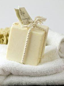 Jabón natural blanco