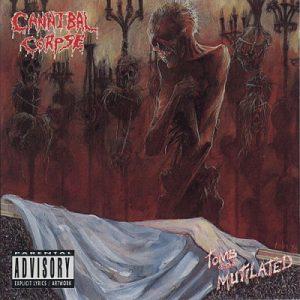 Cannibal Corpse - Tomb of the Mutilated - Portada Censurada