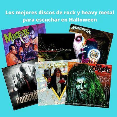 Los mejores discos de rock y heavy metal para escuchar en Halloween
