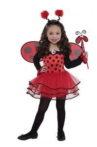 Niñas pequeñas disfraces Ladybug
