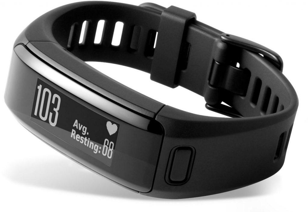 Garmin Vivosmart HR: pulsera running con pulsómetro en la muñeca y altímetro