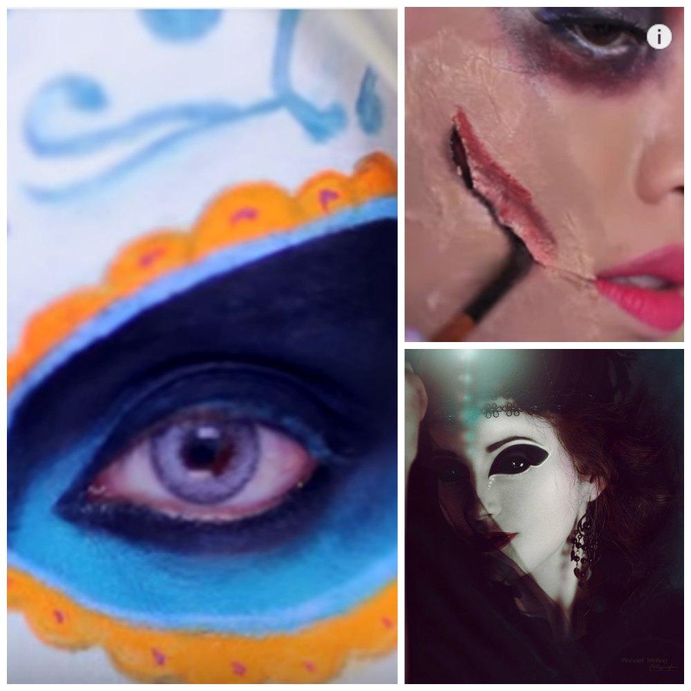 Maquillajes Halloween: Los mejores tutoriales  para disfraces originales