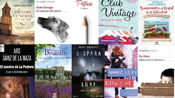 10 Novelas recomendadas para estas navidades 2016-2017