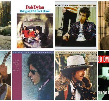 Bob Dylan carátulas discos